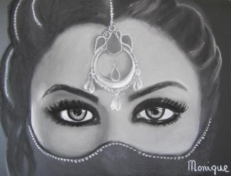 Charcoal Art by Monique