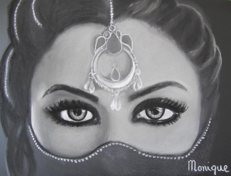 Charcoal Art by Monique